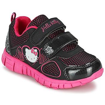 Sko Pige Lave sneakers Hello Kitty BASEMO PHYL Sort