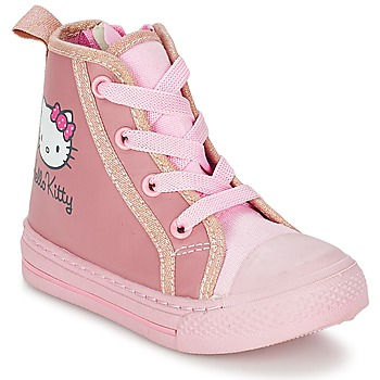 Sko Pige Høje sneakers Hello Kitty TANSIOUR Pink