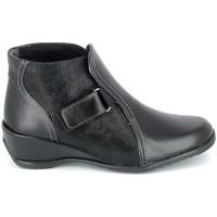 Sko Dame Støvler Boissy Boots Noir Sort