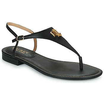 Sko Dame Sandaler Lauren Ralph Lauren ELLINGTON SANDALS CASUAL Sort