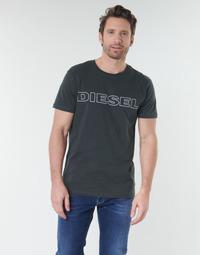textil Herre T-shirts m. korte ærmer Diesel UMLT-JAKE Grå