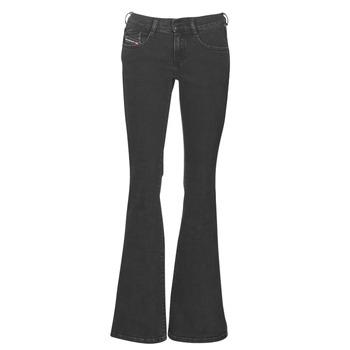 textil Dame Bootcut jeans Diesel EBBEY Blå / Mørk / 0870g