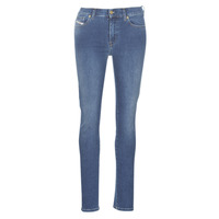 textil Dame Smalle jeans Diesel D-ROISIN Blå / 085ab