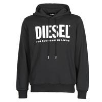 textil Herre Sweatshirts Diesel GIR-HOOD-DIVISION Sort
