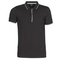 textil Herre Polo-t-shirts m. korte ærmer Armani Exchange HANEMO Sort