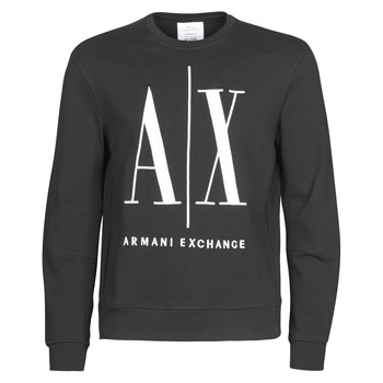 textil Herre Sweatshirts Armani Exchange HELIX Sort