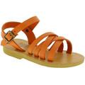 Sandaler til børn Attica Sandals  HEBE CALF ORANGE