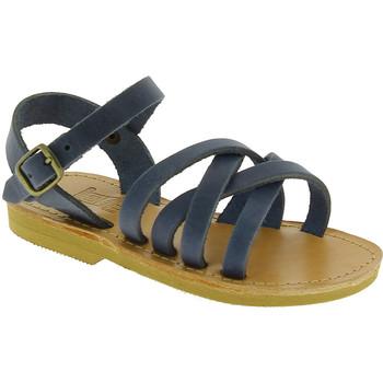 Sko Herre Sandaler Attica Sandals HEBE NUBUK BLUE blu