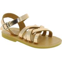 Sko Pige Sandaler Attica Sandals HEBE CALF GOLD PINK Oro rosa