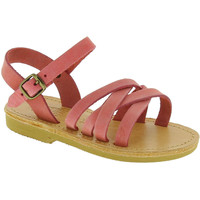 Sko Pige Sandaler Attica Sandals HEBE NUBUK PINK Rosa chiaro