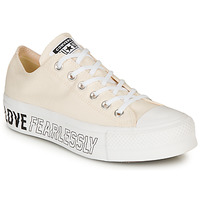 Sko Dame Lave sneakers Converse CHUCK TAYLOR ALL STAR LIFT - OX Beige
