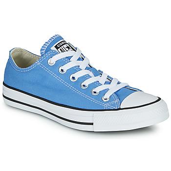Sko Dame Lave sneakers Converse Chuck Taylor All Star Seasonal Color Blå