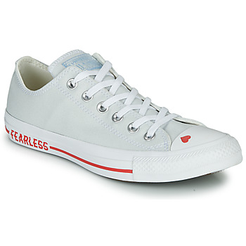 Sko Dame Lave sneakers Converse CHUCK TAYLOR ALL STAR LOVE CANVAS - OX Hvid / Rød
