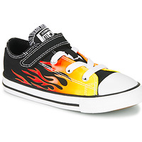 Sko Pige Lave sneakers Converse CHUCK TAYLOR ALL STAR 1V - OX Sort / Gul