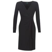 textil Dame Lange kjoler Lauren Ralph Lauren  Sort