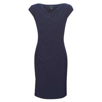 textil Dame Korte kjoler Lauren Ralph Lauren Ancelin Marineblå