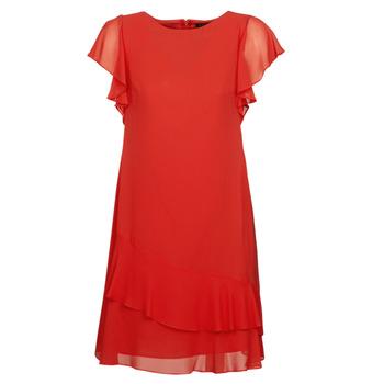 textil Dame Korte kjoler Lauren Ralph Lauren Arolde Rød