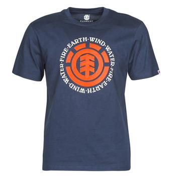 textil Herre T-shirts m. korte ærmer Element SEAL Marineblå