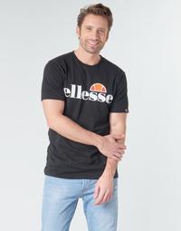 textil Herre T-shirts m. korte ærmer Ellesse SL  PRADO Sort