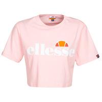 textil Dame T-shirts m. korte ærmer Ellesse ALBERTA Pink