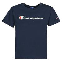 textil Dame T-shirts m. korte ærmer Champion KOOLATE Marineblå