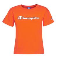 textil Dame T-shirts m. korte ærmer Champion KOOLATE Rød