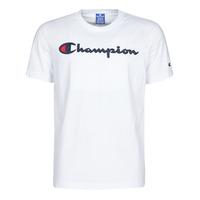 textil Herre T-shirts m. korte ærmer Champion 214194 Hvid
