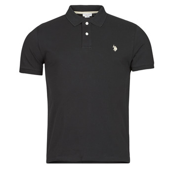 textil Herre Polo-t-shirts m. korte ærmer U.S Polo Assn. INSTITUTIONAL POLO Sort