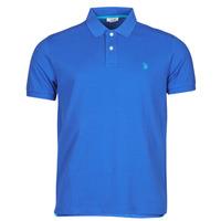 textil Herre Polo-t-shirts m. korte ærmer U.S Polo Assn. INSTITUTIONAL POLO Blå