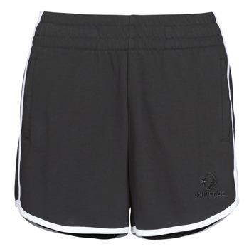 textil Dame Shorts Converse TWISTED VARSITY SHORT Sort