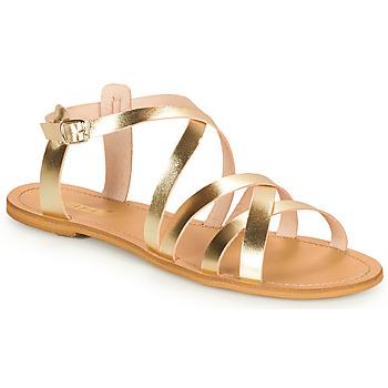 Sko Dame Sandaler So Size IDITRON Guld