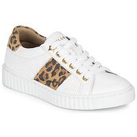 Sko Pige Lave sneakers Bullboxer LORIS Hvid / Leopard