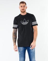 textil Herre T-shirts m. korte ærmer adidas Originals OUTLINE TEE Sort