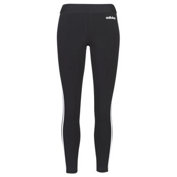 textil Dame Leggings adidas Performance E 3S TIGHT Sort