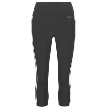 textil Dame Leggings adidas Performance D2M 3S 34 TIG Sort