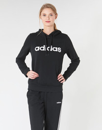 textil Dame Sweatshirts adidas Performance E LIN OH HD Sort