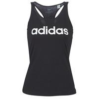 textil Dame Toppe / T-shirts uden ærmer adidas Performance E LIN SLIM TK Sort