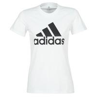 textil Dame T-shirts m. korte ærmer adidas Performance BOS CO TEE Hvid