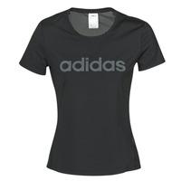 textil Dame T-shirts m. korte ærmer adidas Performance D2M LO TEE Sort