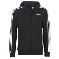 textil Herre Sweatshirts adidas Performance E 3S FZ FT Sort