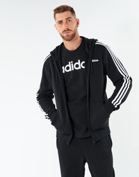textil Herre Sweatshirts adidas Performance E 3S FZ FT Sort