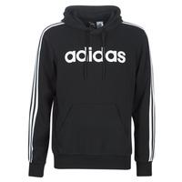textil Herre Sweatshirts adidas Performance E 3S PO FL Sort