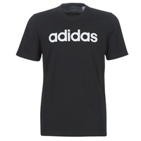 textil Herre T-shirts m. korte ærmer adidas Performance E LIN TEE Sort