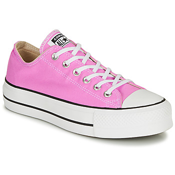 Sko Dame Lave sneakers Converse Chuck Taylor All Star Lift Seasonal Color Pink