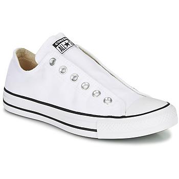 Sko Dame Lave sneakers Converse CHUCK TAYLOR ALL STAR SLIP CORE BASICS Hvid