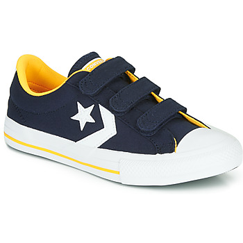 Sko Dreng Lave sneakers Converse Star Player 3V Varsity Canvas Blå