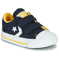 Sko Dreng Lave sneakers Converse Star Player 2V Varsity Canvas Blå