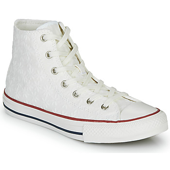 Sko Pige Høje sneakers Converse CHUCK TAYLOR ALL STAR LITTLE MISS CHUCK Hvid
