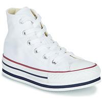 Sko Pige Høje sneakers Converse CHUCK TAYLOR ALL STAR PLATFORM EVA EVERYDAY EASE Hvid