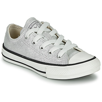Sko Børn Lave sneakers Converse CHUCK TAYLOR ALL STAR SUMMER SPARKLE Grå